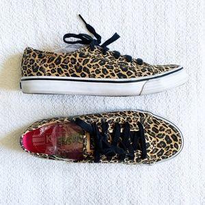 Kids Leopard Sneakers